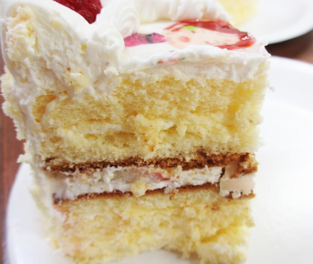 ピクトケーキ 断面図